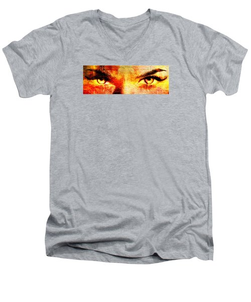 Torrid Eyes Men's V-Neck T-Shirt