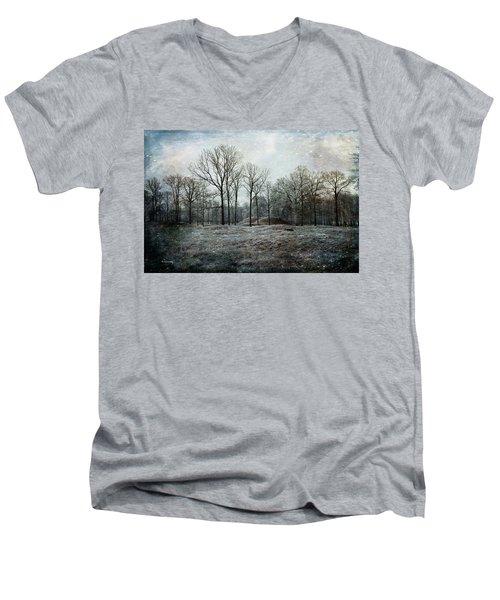 Total Absence Men's V-Neck T-Shirt