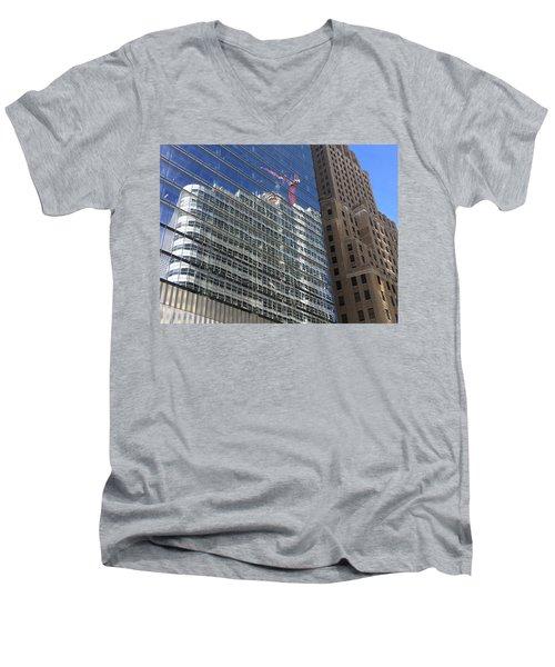 Total Reflection Men's V-Neck T-Shirt