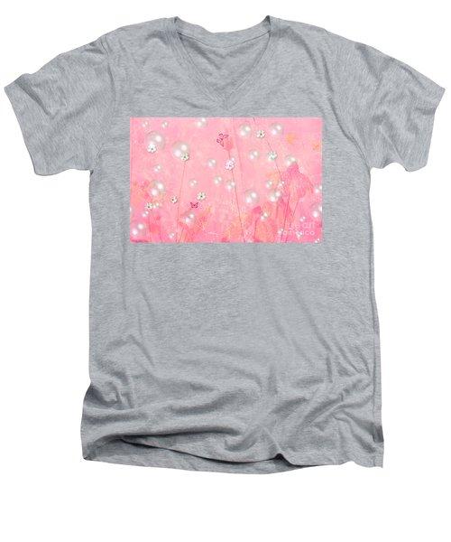 Touch Me In The Morning Men's V-Neck T-Shirt