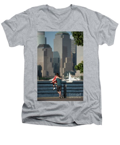 Tourists Men's V-Neck T-Shirt