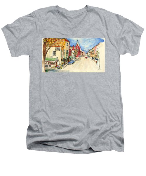 Towanda Pa Men's V-Neck T-Shirt