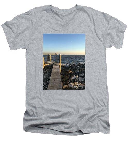 Towards The Bay Men's V-Neck T-Shirt