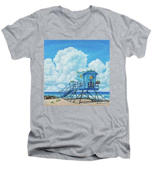 Tower 30 Morning Patrol Men's V-Neck T-Shirt