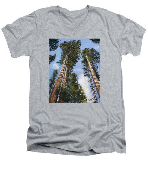 Towering Sequoias Men's V-Neck T-Shirt