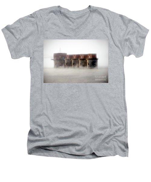 Towers Rising Men's V-Neck T-Shirt