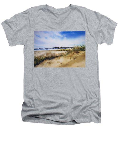 Townsends Inlet Men's V-Neck T-Shirt