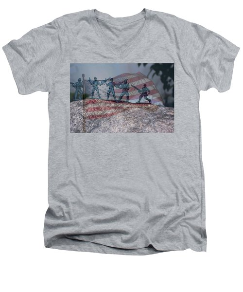 Toy Soldiers Men's V-Neck T-Shirt