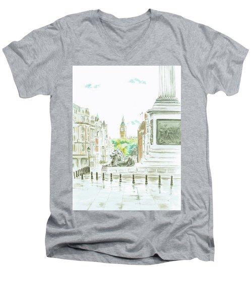 Trafalgar Square Men's V-Neck T-Shirt
