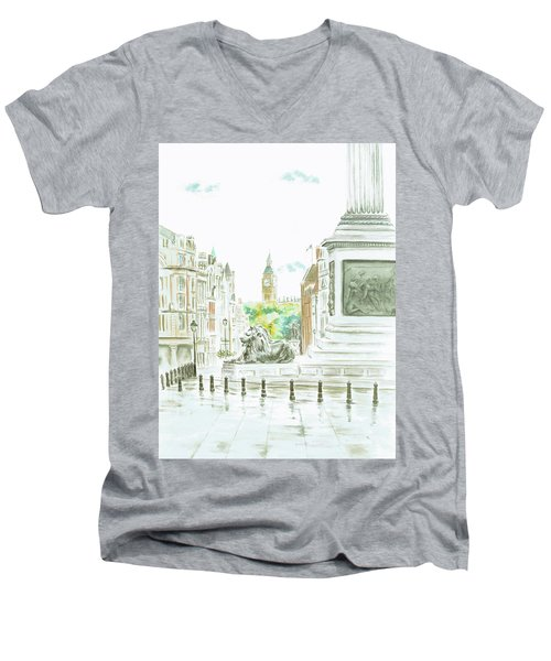 Trafalgar Square Men's V-Neck T-Shirt