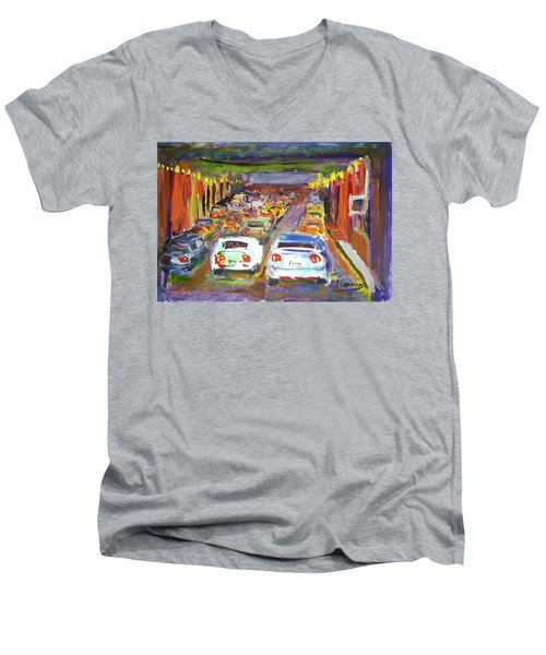 Traffic Jam Men's V-Neck T-Shirt