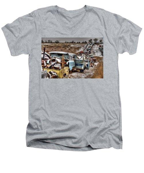 Traffic Zone Men's V-Neck T-Shirt