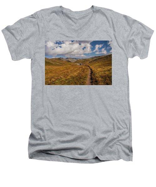 Trail Dancing Men's V-Neck T-Shirt