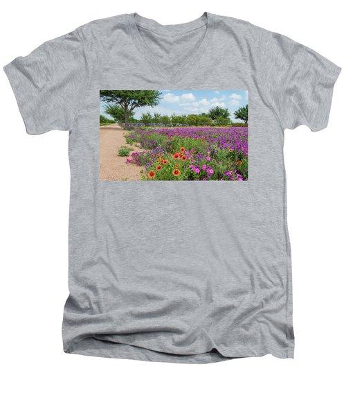 Trailing Beauty Men's V-Neck T-Shirt