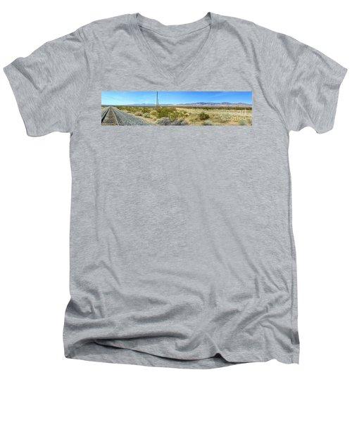 Train To Tehachapi Men's V-Neck T-Shirt