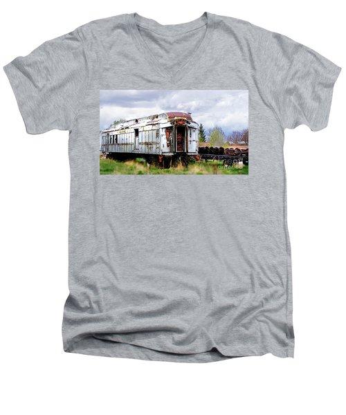 Train Tootoot Men's V-Neck T-Shirt