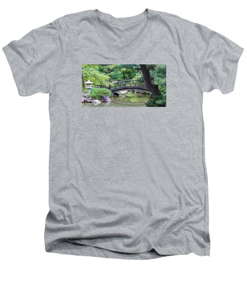 Men's V-Neck T-Shirt featuring the photograph Tranqility by Bruce Bley