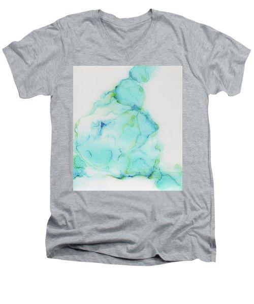 Tranquil And Soft Sky Men's V-Neck T-Shirt