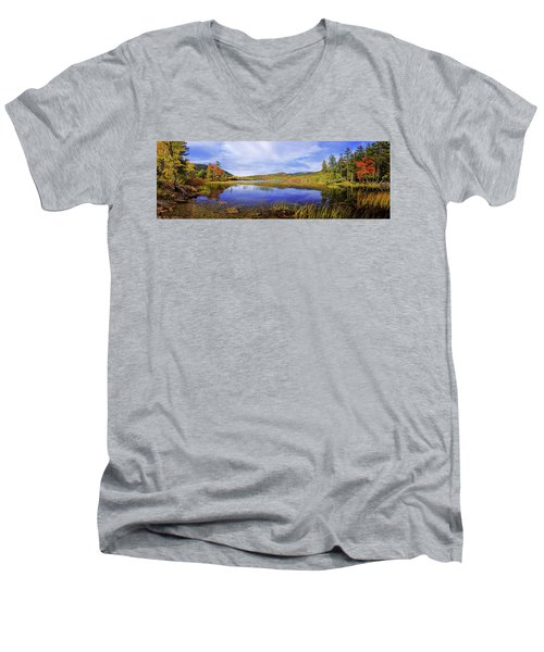 Men's V-Neck T-Shirt featuring the photograph Tranquil by Chad Dutson