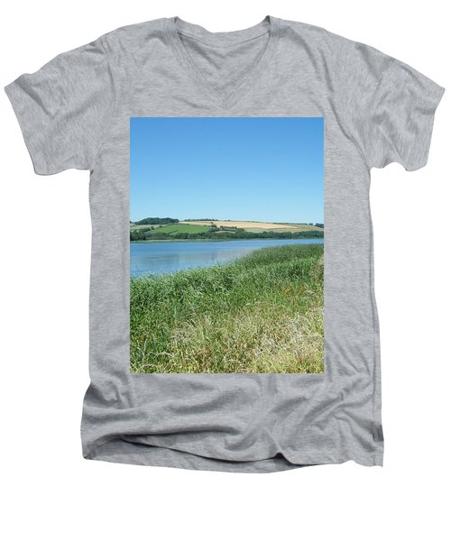 Tranquil Men's V-Neck T-Shirt