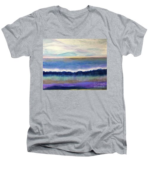 Tranquil Seas Men's V-Neck T-Shirt