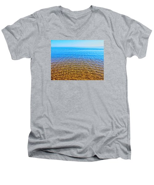 Men's V-Neck T-Shirt featuring the photograph Tranquility by Kathleen Sartoris