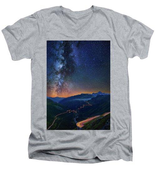 Transience And Eternity Men's V-Neck T-Shirt