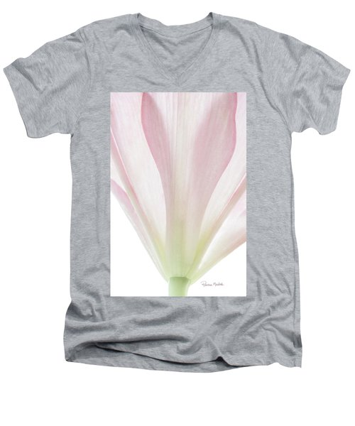 Transparent Lilly II Men's V-Neck T-Shirt