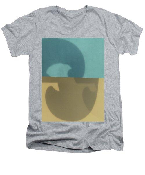 Transponding Men's V-Neck T-Shirt