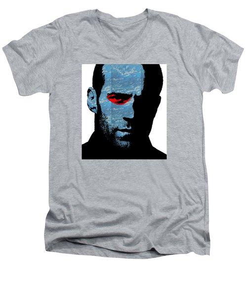 Transporter Men's V-Neck T-Shirt by Emme Pons