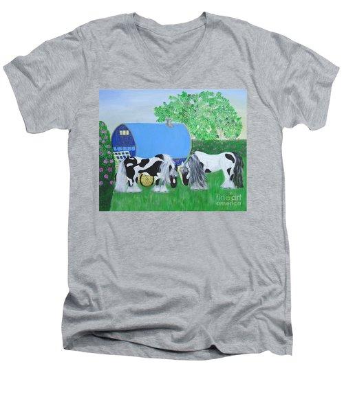 Travelling Light Men's V-Neck T-Shirt