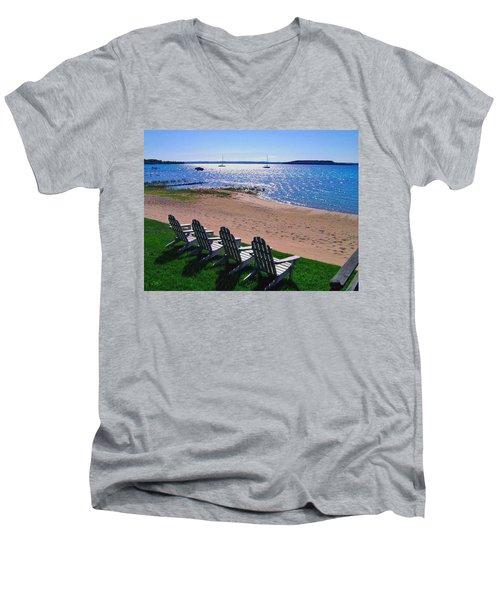 Traverse Bay Reverie Men's V-Neck T-Shirt