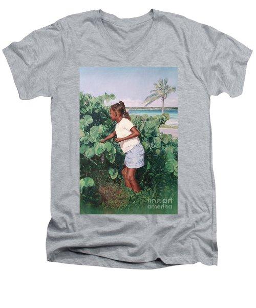Treasure Cove Men's V-Neck T-Shirt