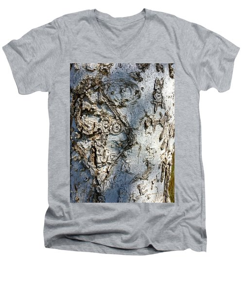 Tree At Pitt Street Pier Men's V-Neck T-Shirt