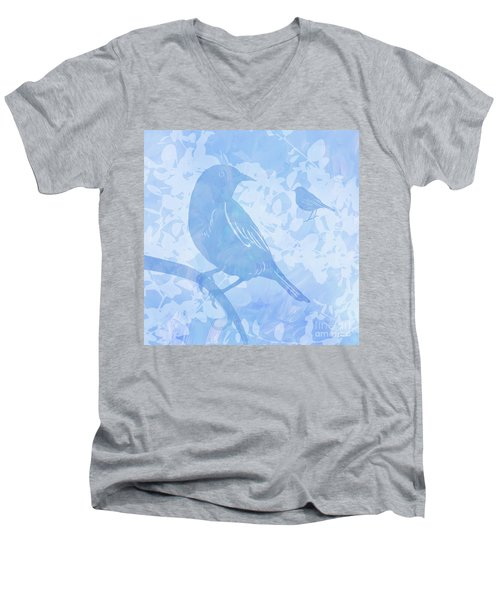 Tree Birds I Men's V-Neck T-Shirt