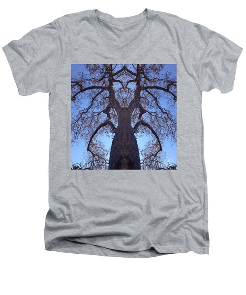 Tree Creature Men's V-Neck T-Shirt