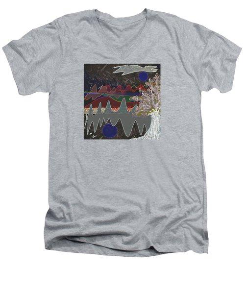 Tree Energy Men's V-Neck T-Shirt