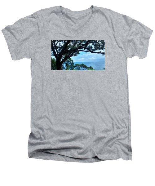 Tree Eyes Men's V-Neck T-Shirt