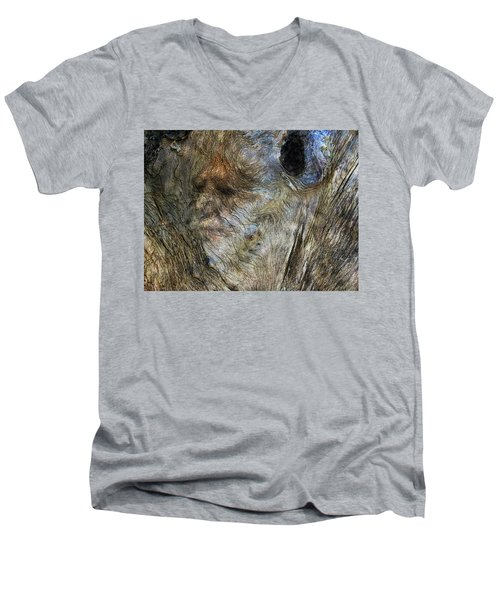 Men's V-Neck T-Shirt featuring the photograph Tree Memories # 25 by Ed Hall