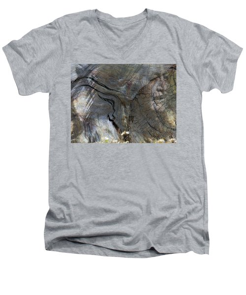 Men's V-Neck T-Shirt featuring the photograph Tree Memories # 28 by Ed Hall