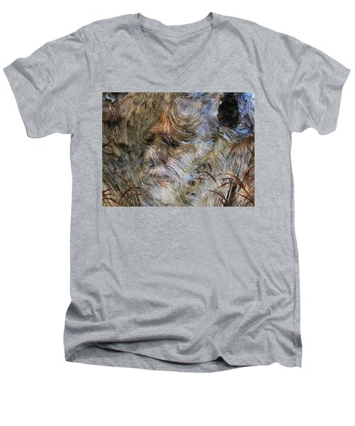 Men's V-Neck T-Shirt featuring the photograph Tree Memories # 35 by Ed Hall