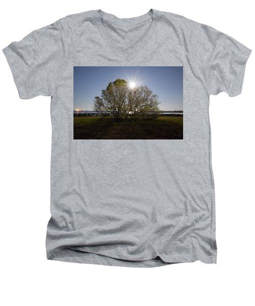 Tree Of The Night Men's V-Neck T-Shirt