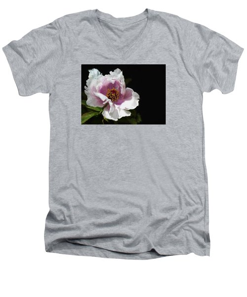 Tree Paeony II Men's V-Neck T-Shirt