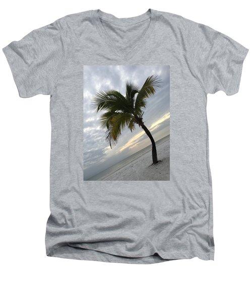 Tree Pose Men's V-Neck T-Shirt