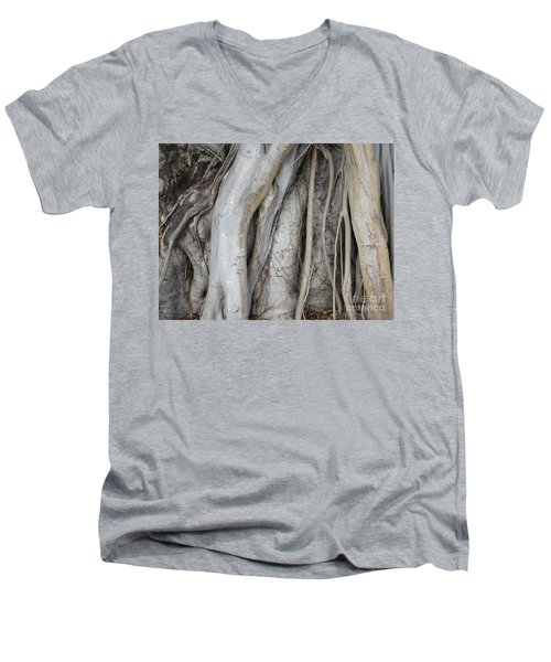 Tree Roots Men's V-Neck T-Shirt