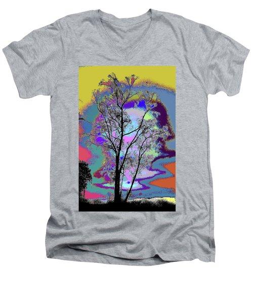 Tree - Story Of Life Men's V-Neck T-Shirt