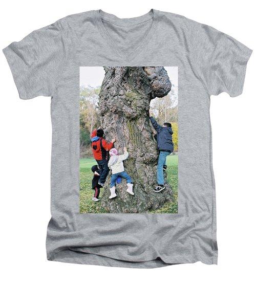Tree Urchins Men's V-Neck T-Shirt