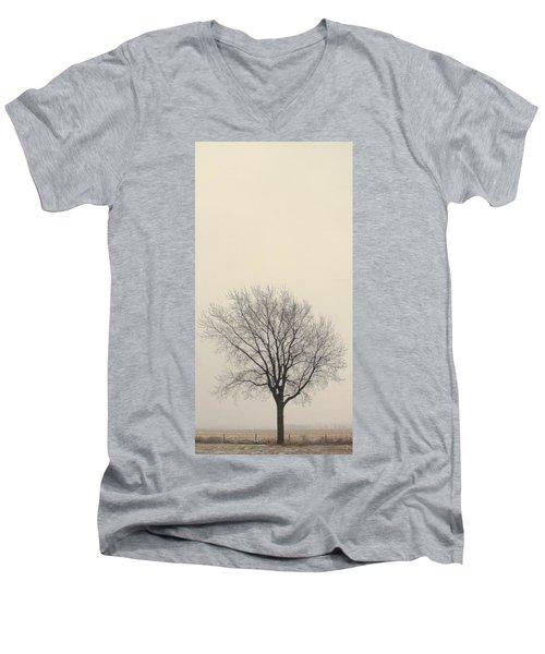 Men's V-Neck T-Shirt featuring the photograph Tree#2 by Susan Crossman Buscho