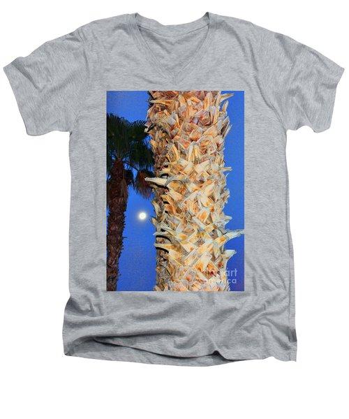 Trees Capture Sun Men's V-Neck T-Shirt