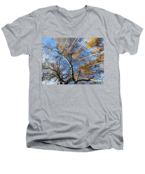 Trees Grow To The Sky Men's V-Neck T-Shirt